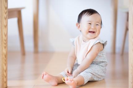 赤ちゃん フローリング